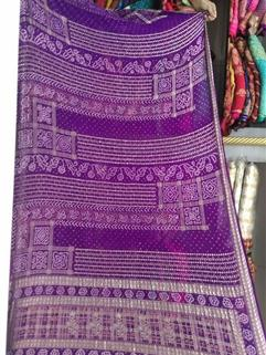 Bandhani Saree In  Maysori Georgette Saree 21