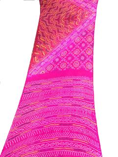 Bandhani Saree In Chinon Fancy 1