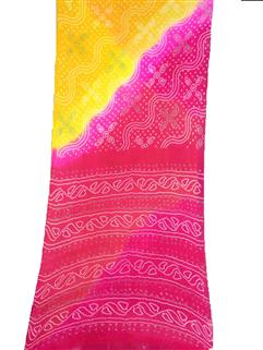 Bandhani Saree In Chinon Fancy 3