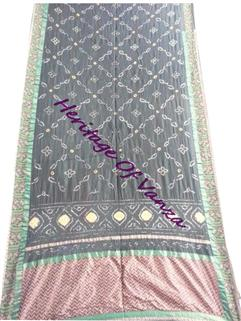 Bandhani saree in Gadhwal Silk 6