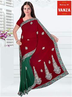 Georgette Designer Saree 2