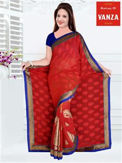 Georgette Designer Saree 5