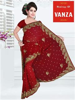 Georgette Designer Saree 10