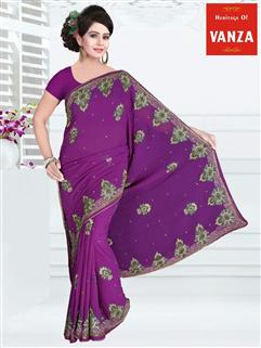 Georgette Designer Saree 12