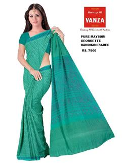 Bandhani Saree In Maysori Georgette 31