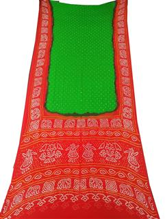 Bandhani Saree In Georgette 2