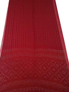 Bandhani Saree In Georgette 5