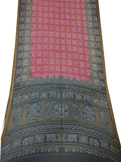 Bandhani Saree In Pure Crape Silk