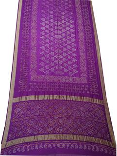 Banarasi silk Purple