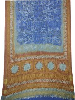 Bandhani saree In Real Zari Silk