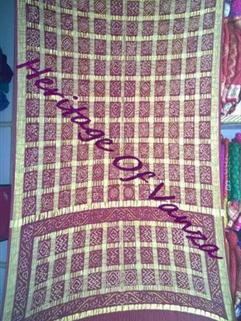 Bandhani Gharchola Silk Traditional And Real Zari