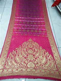Bandhani Saree In Dimond Georgette Saree 61