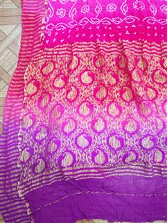 Bandhani Saree In Crape 15