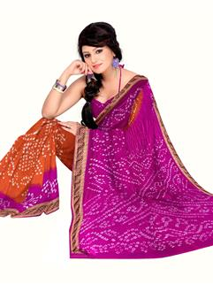 Tapeta Silk Bandhani Saree 2