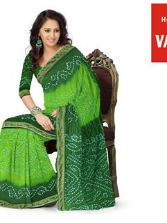 Tapeta Silk Bandhani Saree 4